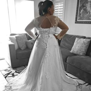 Dresses | Beautiful Plus Size Wedding Dress Size 18 | Poshmark